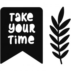 Fustella Artemio - GOOD VIBES - TAKE YOUR TIME
