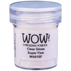 Wow! Large - Clear Gloss Super Fine