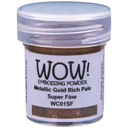Wow! - Metallics Gold Rich Pale Super Fine