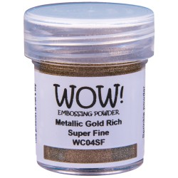 Wow! - Metallics Gold Rich Super Fine