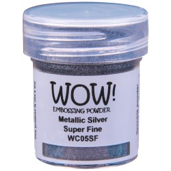 Wow! - Metallics Silver Super Fine