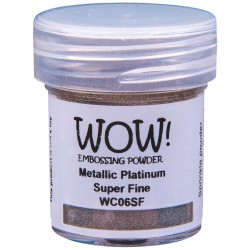 Wow! - Metallics platinum super fine