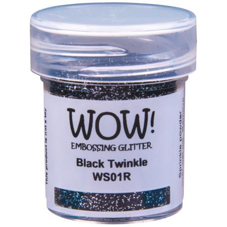 Wow! - Glitter Black Twinkle