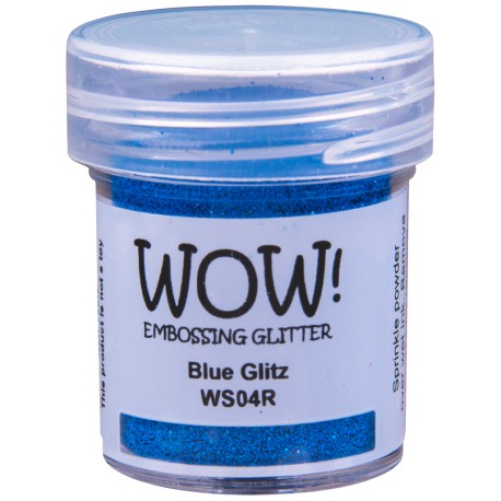 Wow! - Glitter Blue Glitz