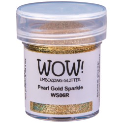 Wow! - Glitter Pearl Gold Sparkle