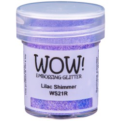 Wow! - Glitter lilac shimmer
