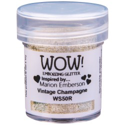 Wow! - Glitter Vintage Champagne