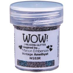 Wow! - Glitter Vintage Amethyst