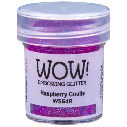 Wow! - Glitter Raspberry Coulis