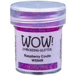 Wow! - Glitter Raspberry Coulis