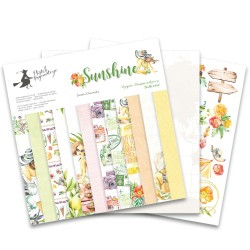 PIATEK13 -  Sunshine  - PAPER SET 12x12""