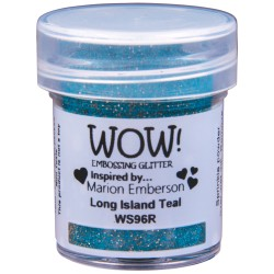 Wow! - Glitters Long Island Teal