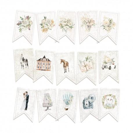 PIATEK13 - Truly Yours - Paper die cut garland