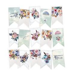 PIATEK13 - When we first met - Paper die cut garland