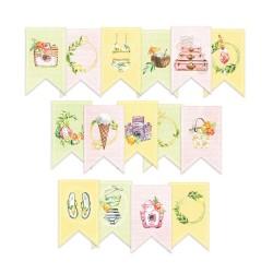 PIATEK13 - Sunshine - Paper die cut garland