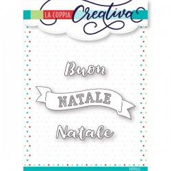Fustella La Coppia Creativa - Buon Natale Banner