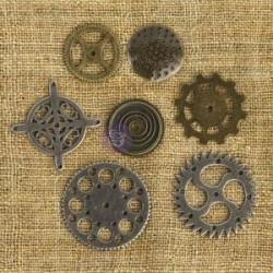 Vintage Trinkets Finnabair - Ingranaggi