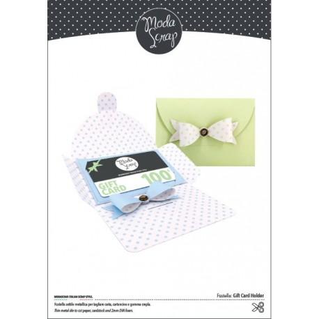 Fustella ModaScrap - FUSTELLA GIFT CARD HOLDER