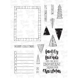 Timbro Clear ModaScrap - GOOD CHEER FOR CHRISTMAS