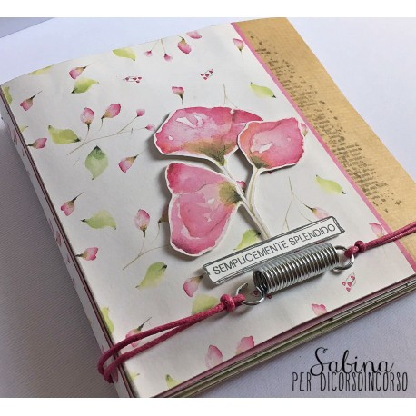 Kit : Due Mini Album con un kit ModaScrap di Sabina