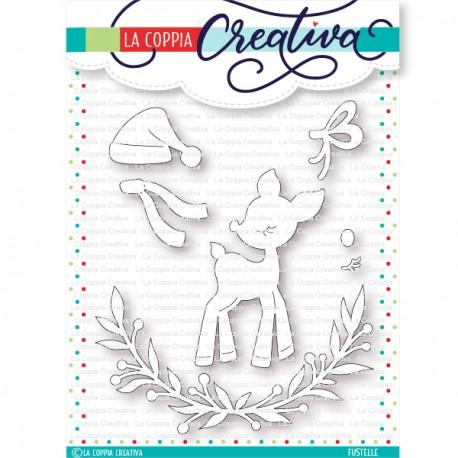 Fustella La Coppia Creativa - PICCOLA RENNA