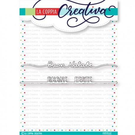 Fustella La Coppia Creativa - BUONE FESTE SUL FILO