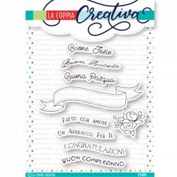 Timbri La Coppia Creativa -  BANNER E SCRITTE