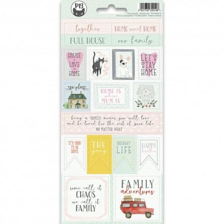 PIATEK13 - Sticker We are family 02