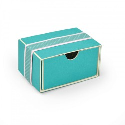 Fustella Sizzix Scoreboards XL - Card Box, Planner Storage, Organizer