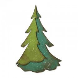Fustella Sizzix Bigz - Layered Pine