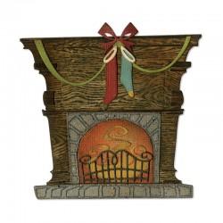 Fustella Sizzix Thinlits - Fireside