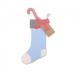 Fustella Sizzix Thinlits - Christmas Stocking
