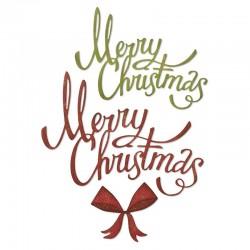 Fustella Sizzix Thinlits -Christmas Ribbon