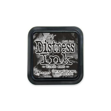 Tampone distress - Black soot