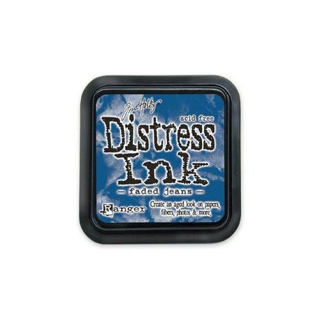 Tampone distress - Faded Jeans