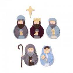 Fustella Sizzix Bigz L - Sweet Nativity