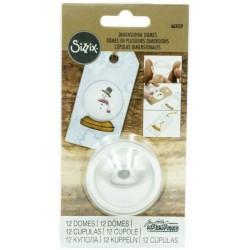 Sizzix - Dimensional Domes - 12 mezze cupolette