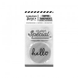 Timbro clear Florileges - HELLO SPÉCIAL