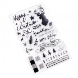 Timbri Clear Heidi Swapp - Winter Wonderland