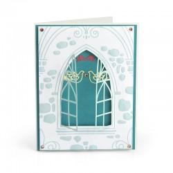 Embosing folder Sizzix Impresslits - Wedding Window