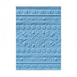 Embosing folder Sizzix 3-D Textured Impressions - Folk Art Pattern