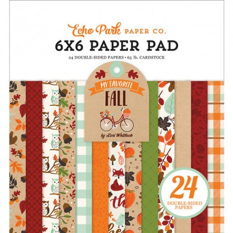 Echo Park 6x6 pad - My Favorite Fall Collection