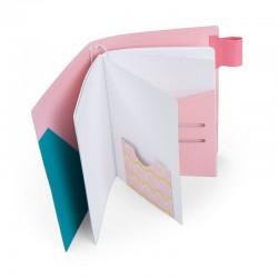 Fustella Sizzix Bigz XL - Traveler's Pink Notebook Cover