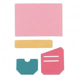 Fustella Sizzix Bigz XL -  Traveler's Notebook Pages & Pockets