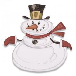 Fustella Sizzix Thinlits -Die Set 11PK - Mr. Snowman, Colorize™
