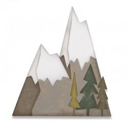 Fustella Sizzix Thinlits - Die Set 7PK - Alpine