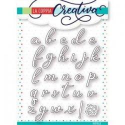 Fustella La Coppia Creativa - Alfabeto Corsivo