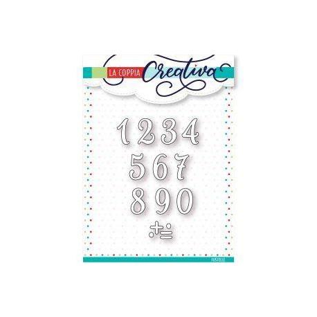 Fustella La Coppia Creativa - Piccoli Numeri
