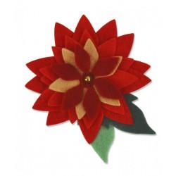 Fustella Sizzix Bigz - Pretty Poinsettia
