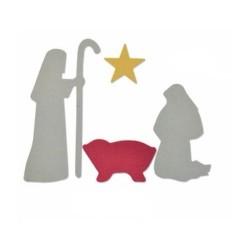 Fustella Sizzix Bigz - Nativity Scene